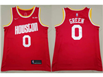 Houston Rockets #0 Russell Westbrook 2019/20 Red Swingman Jersey