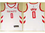 Houston Rockets #0 Russell Westbrook 2019/20 White Swingman Jersey