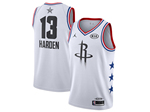 Houston Rockets #13 James Harden White 2019 All-Star Game Swingman Jersey