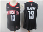 Houston Rockets #13 James Harden 2017/18 Black Swingman Jersey