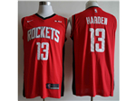 Houston Rockets #13 James Harden 2019/20 Red Swingman Jersey