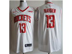 Houston Rockets #13 James Harden 2019/20 White Swingman Jersey