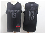 Houston Rockets #13 James Harden Black MVP Swingman Jersey