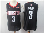 Houston Rockets #3 Chris Paul Black Swingman Jersey