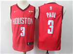 Houston Rockets #3 Chris Paul 2018/19 Red Earned Edition Swingman Jersey