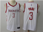 Houston Rockets #3 Chris Paul White Swingman Jersey