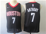Houston Rockets #7 Carmelo Anthony Black Swingman Jersey