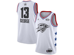 Oklahoma City Thunder #13 Paul George White 2019 All-Star Game Swingman Jersey