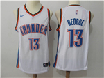 Oklahoma City Thunder #13 Paul George White Swingman Jersey