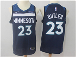 Minnesota Timberwolves #23 Jimmy Butler Navy Swingman Jersey