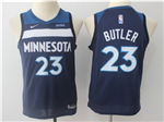 Minnesota Timberwolves #23 Jimmy Butler Youth Navy Swingman Jersey