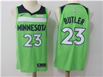 Minnesota Timberwolves #23 Jimmy Butler Green Swingman Jersey