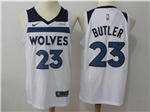 Minnesota Timberwolves #23 Jimmy Butler White Swingman Jersey