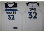 Minnesota Timberwolves #32 Karl-Anthony Towns White Swingman Jersey