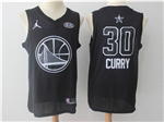 Golden State Warriors #30 Stephen Curry Black 2018 All-Star Game Swingman Jersey