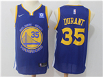 Golden State Warriors #35 Kevin Durant Blue Swingman Jersey