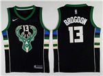 Milwaukee Bucks #13 Malcolm Brogdon 2017/18 Black Swingman Jersey