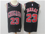 Chicago Bulls #23 Michael Jordan 2017/18 Black Jersey