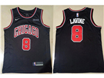Chicago Bulls #8 Zach LaVine Black Swingman Jersey