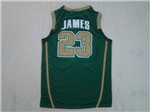St.Vincent-St.Mary Fighting Irish #23 LeBron James Green High School Jersey