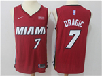 Miami Heat #7 Goran Dragić Red Authentic Jersey