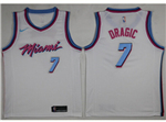 Miami Heat #7 Goran Dragić 2017/18 White City Edition Swingman Jersey