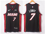 Miami Heat #7 Goran Dragić Black Swingman Jersey
