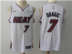 Miami Heat #7 Goran Dragić White Swingman Jersey
