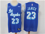 Los Angeles Lakers #23 Lebron James 2019/20 Blue Classic Edition Swingman Jersey