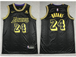 Los Angeles Lakers #24 Kobe Bryant Black City Edition Swingman Jersey