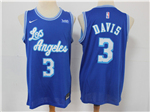 Los Angeles Lakers #3 Anthony Davis 2019/20 Blue Classic Edition Swingman Jersey