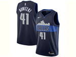 Dallas Mavericks #41 Dirk Nowitzki Navy City Edition Swingman Jersey