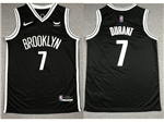 Brooklyn Nets #7 Kevin Durant Black Swingman Jersey