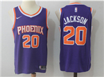 Phoenix Suns #20 Josh Jackson 2017/18 Purple Authentic Jersey