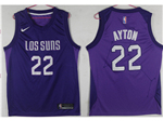 Phoenix Suns #22 Deandre Ayton Purple City Edition Swingman Jersey