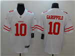 San Francisco 49ers #10 Jimmy Garoppolo White Vapor Untouchable Limited Jersey