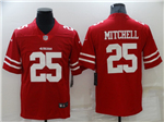 San Francisco 49ers #25 Richard Sherman Red Vapor Untouchable Limited Jersey