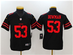 San Francisco 49ers #53 NaVorro Bowman Youth Black Vapor Untouchable Limited Jersey