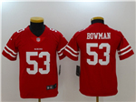 San Francisco 49ers #53 NaVorro Bowman Youth Red Vapor Untouchable Limited Jersey