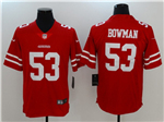 San Francisco 49ers #53 NaVorro Bowman Red Vapor Untouchable Limited Jersey