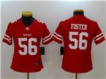 San Francisco 49ers #56 Reuben Foster Women's Red Vapor Untouchable Limited Jersey