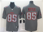 San Francisco 49ers #85 George Kittle Gray Camo Limited Jersey