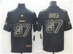San Francisco 49ers #97 Nick Bosa Black Gold Vapor Limited Jersey