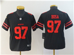 San Francisco 49ers #97 Nick Bosa Youth Black Vapor Untouchable Limited Jersey