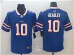 Buffalo Bills #10 Cole Beasley Blue Vapor Untouchable Limited Jersey