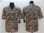 Buffalo Bills #17 Josh Allen 2018 Camo Salute To Service Limited Jersey