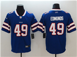 Buffalo Bills #49 Tremaine Edmunds Blue Vapor Untouchable Limited Jersey