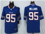 Buffalo Bills #95 Kyle Williams Blue Vapor Untouchable Limited Jersey