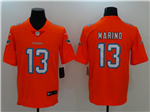 Miami Dolphins #13 Dan Marino Orange Vapor Untouchable Limited Jersey