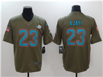 Miami Dolphins #23 Jay Ajayi 2017 Olive Salute To Service Limited Jersey
